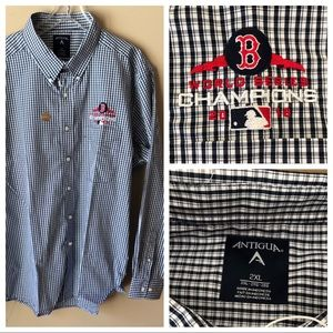 NWT Boston Red Sox Long Sleeve Button-Down Shirt